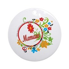 Wonderful Memaw Ornament (Round)