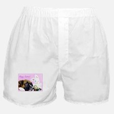 Happy Easter boxer Boxer Shorts