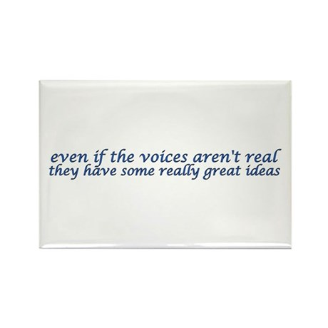 voices and ideas sticker Magnets