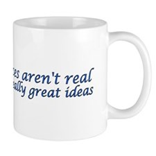 voices and ideas sticker Mugs