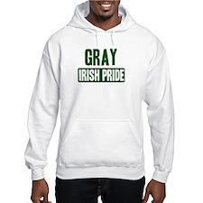 Gray irish pride Hoodie