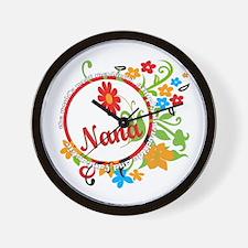 Wonderful Nana Wall Clock