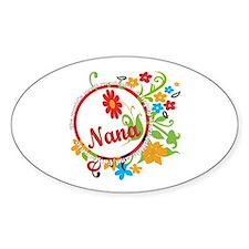Wonderful Nana Oval Decal