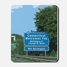 Connecticut Apology Mousepad