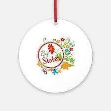 Wonderful Big Sister Ornament (Round)