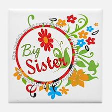 Wonderful Big Sister Tile Coaster