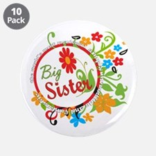 "Wonderful Big Sister 3.5"" Button (10 pack)"