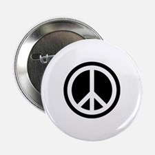 "Peace Symbol 2.25"" Button"
