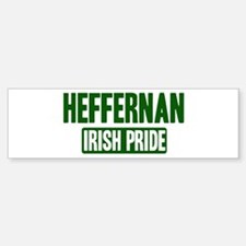 Heffernan irish pride Bumper Bumper Bumper Sticker
