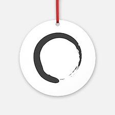 Enso - Zen Circle Ornament (Round)