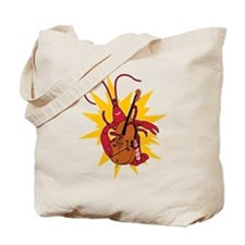Crawfish Upright Bassist Tote Bag