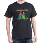 Four Calling Birds Dark T-Shirt