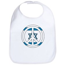 Peace - Israeli Flag Bib