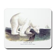 Audubon Polar Bear Mousepad