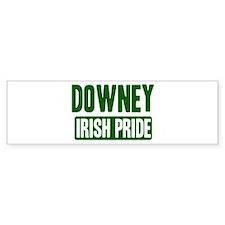Downey irish pride Bumper Bumper Sticker