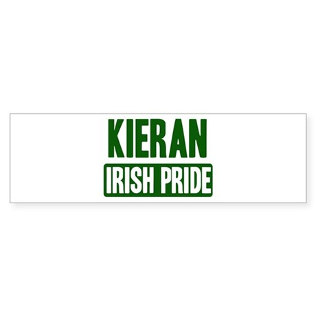 Kieran irish pride Bumper Sticker