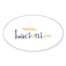Bacioni 1 Oval Decal