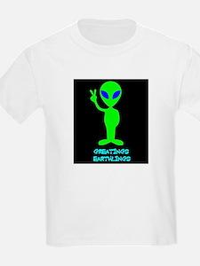 Greetings Earthlings T-Shirt