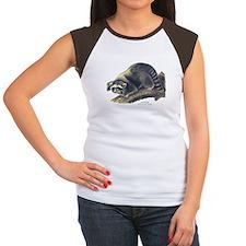 Audubon Raccoon Coon Women's Cap Sleeve T-Shirt