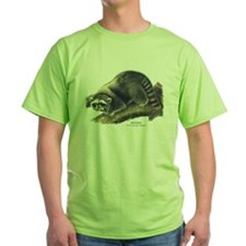 Audubon Raccoon Coon T-Shirt