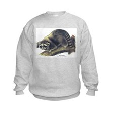 Audubon Raccoon Coon Sweatshirt