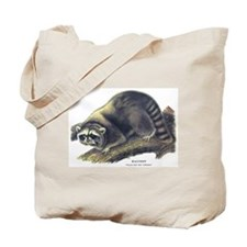 Audubon Raccoon Coon Tote Bag