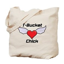 T-Bucket Chick Tote Bag