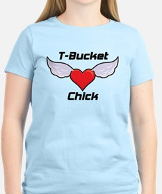 T-Bucket Chick T-Shirt