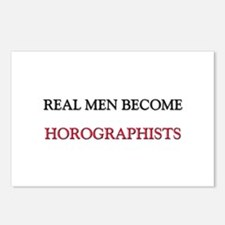 Real Men Become Horographists Postcards (Package o