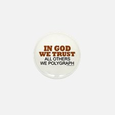 In God We Trust Mini Button (10 pack)