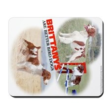 Brittanys Are Better Bird Dogs Mousepad
