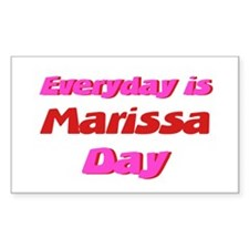 Everyday is Marissa Day Rectangle Decal