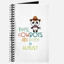 Real Cowboys are born in August Czqgg Journal