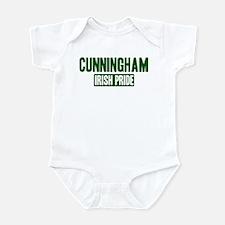 Cunningham irish pride Infant Bodysuit
