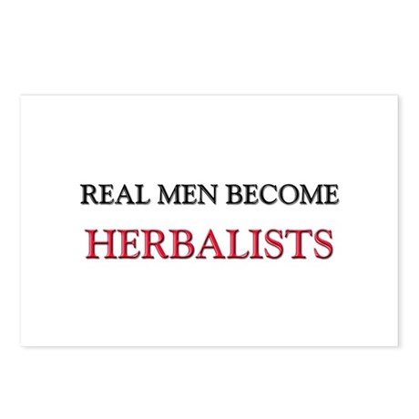 Real Men Become Herbalists Postcards (Package of 8