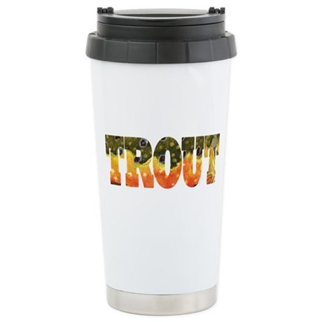 Brook TROUT Stainless Steel Travel Mug