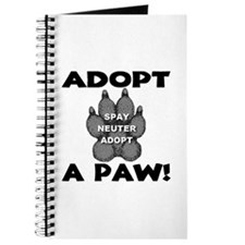 Adopt A Paw: Spay! Neuter! Ad Journal