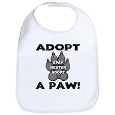 Adopt A Paw: Spay! Neuter! Ad Bib