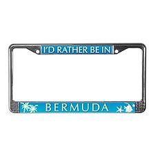 Bermuda License Plate Frame