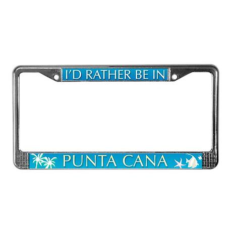 Punta Cana License Plate Frame