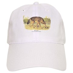 Audubon Red Wolf Animal Baseball Cap
