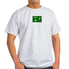 EXIT 0 Ash Grey T-Shirt