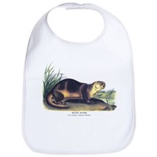 Audubon River Otter Animal Bib