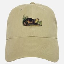 Audubon River Otter Animal Baseball Baseball Cap