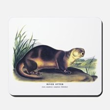 Audubon River Otter Animal Mousepad