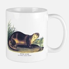 Audubon River Otter Animal Mug