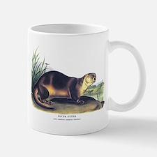 Audubon River Otter Animal Small Small Mug