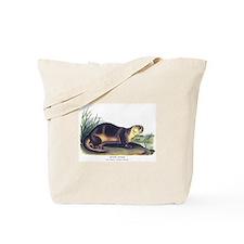 Audubon River Otter Animal Tote Bag