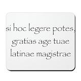 Latin Mouse Pads