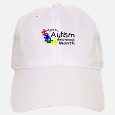 April Is Autism Awareness Month Baseball Baseball Cap